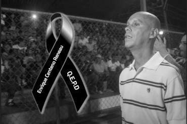 El ex futbolista Enrique Reneau murió a causa de un paro respiratorio