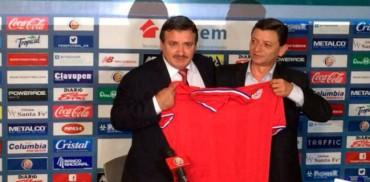 Costa Rica presentó oficialmente a su nuevo entrenador