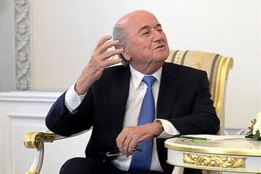 """Blatter: """"No hay corrupción en el fútbol"""""""
