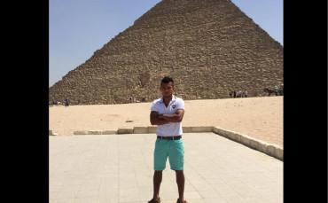 Mario Martínez listo para comenzar su experiencia en el fútbol egipcio