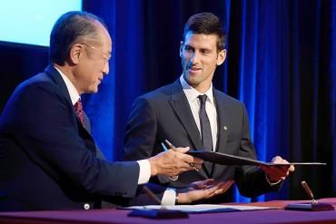 Djokovic, nuevo embajador de UNICEF