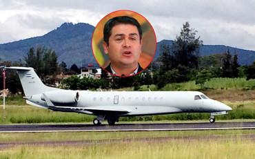 """Juan Orlando Hernández ofreció su avión presidencial a """"Chelato Ucles"""""""