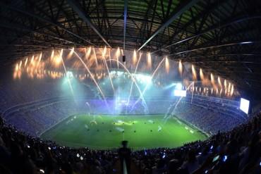 Impresionante inauguración del nuevo Estadio de Monterrey