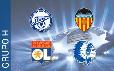 Grupo H: Zenit, Olympique de Lyon y Gent, los rivales del Valencia
