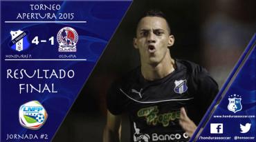 Honduras Progreso desnuda y golea al Olimpia