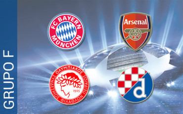 Grupo F: El Bayern Múnich debe mandar junto a un Arsenal siempre peligroso