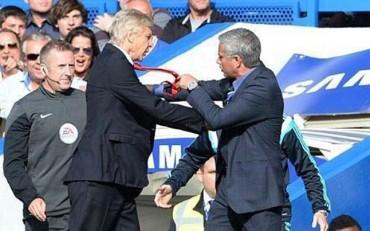 Mourinho justifica por qué no saludó a Wenger