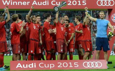 Ante el Madrid, Bayern Munich levantó Audi Cup