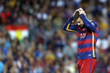 Gerard Piqué, sancionado con cuatro partidos