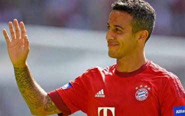 Thiago renueva hasta 2019 con el Bayern Múnich