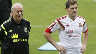 """Del Bosque: """"Casillas es una leyenda del presente"""""""