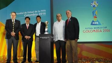 Colombia revela el Emblema Oficial de la Copa Mundial de Fútsal