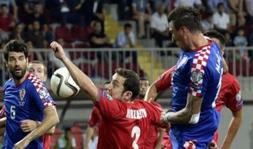Croacia decepciona ante Azerbaiyan