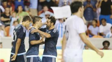 Argentina goleó a su similar de Bolivia en partido amistoso