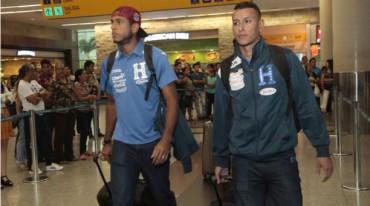 La Selección Nacional de Honduras arribó al país