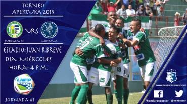 Juticalpa FC y Motagua a cumplir hoy su partido reprogramado
