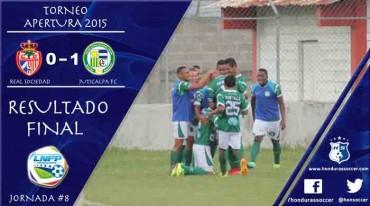 El Juticalpa FC se lleva tres puntos valioso de Tocoa