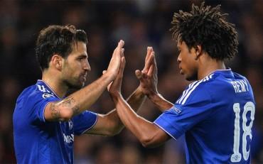 Diego Costa y Cesc 'mojan' en la goleada del Chelsea