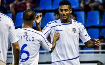 Anthony Lozano firma doblete con el Tenerife