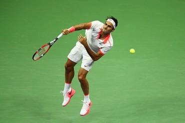 Federer clasificó caminando a la tercera ronda del US Open