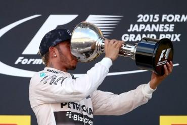 Lewis Hamilton ganó el Gran Premio de Japón