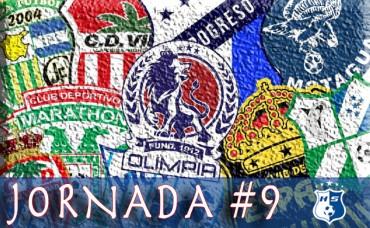 Hoy inicia la Jornada #9 del Torneo de Apertura de la Liga Nacional
