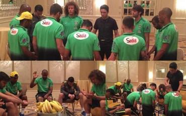 Regresan los rituales religiosos a la selección de Brasil