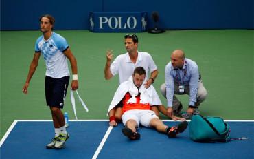 Un golpe de calor 'tumba' a Jack Sock en el US Open
