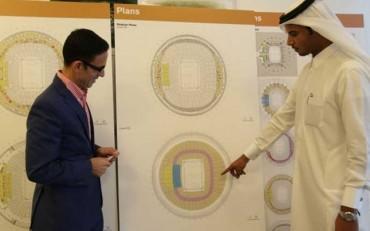 Ya construyen el estadio de la final del Mundial de Catar 2022