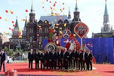 Rusia, a mil días del Mundial 2018