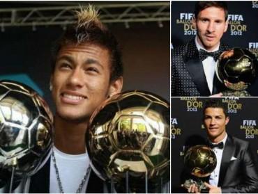 """Neymar: """"Quiero estar entre los finalistas del Balón de Oro de 2015"""""""