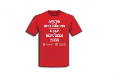 Barça y Atleti, con playera a favor de refugiados