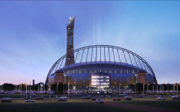 Qatar 2022: El Khalifa Stadium ya coge forma