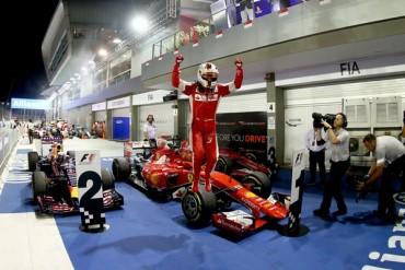 Vettel amplió leyenda y superó a Senna