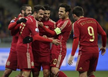España cerró de forma brillante su clasificación a la Eurocopa 2016