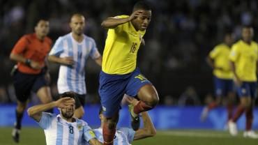 Ecuador confirma la baja de Valencia
