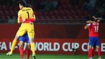 República de Corea se clasifica al vencer a Guinea