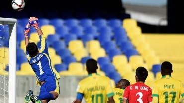 La RDP de Corea logró arañar un empate ante Sudáfrica