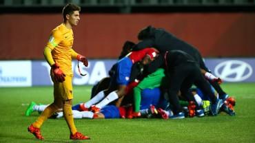 Costa Rica dio la gran sorpresa al derrotar a Francia en el Mundial Sub-17