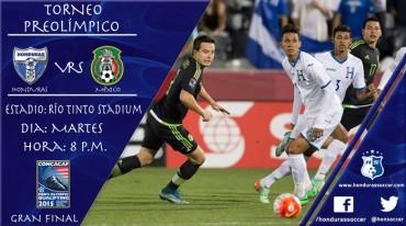 La Sub-23 de Honduras va por la revancha ante México