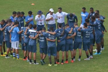 Jorge Luis Pinto tomó el mando de la Selección Mayor de Honduras