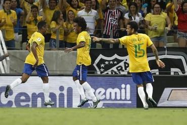 Brasil 'recordó' su fútbol ante Venezuela