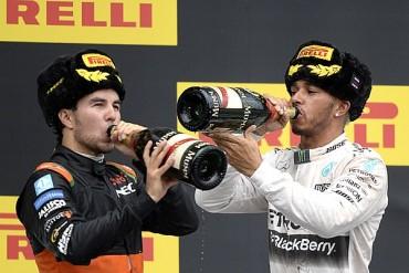 'Checo' Pérez logró su quinto podio en F1