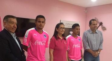 Olimpia se ha unido a la lucha del cáncer de mama