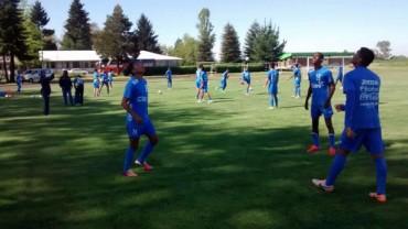 Sub-17 de Honduras se prepara para enfrentar a Mali con mucha seriedad