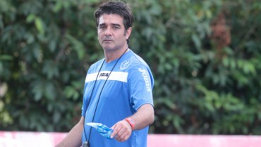 """Diego Vázquez: """"Es importante ganarle hoy al Marathón"""""""