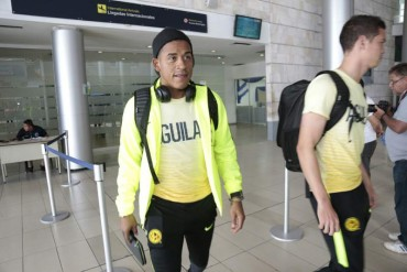 El América llegó a Honduras para enfrentar al Motagua