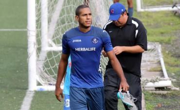 El delantero, Eddie Hernández habló en el campo