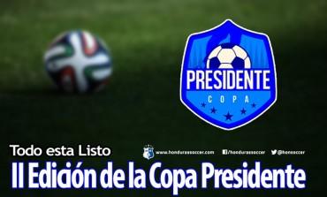 Todo está listo para que inicie la II Edición de la Copa Presidente