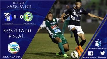 Honduras Progreso confirma su liderato al vencer al Juticalpa